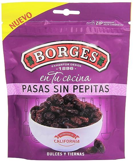 Borges Pasas sin Pepitas Dulces y Tiernas - 150 gr