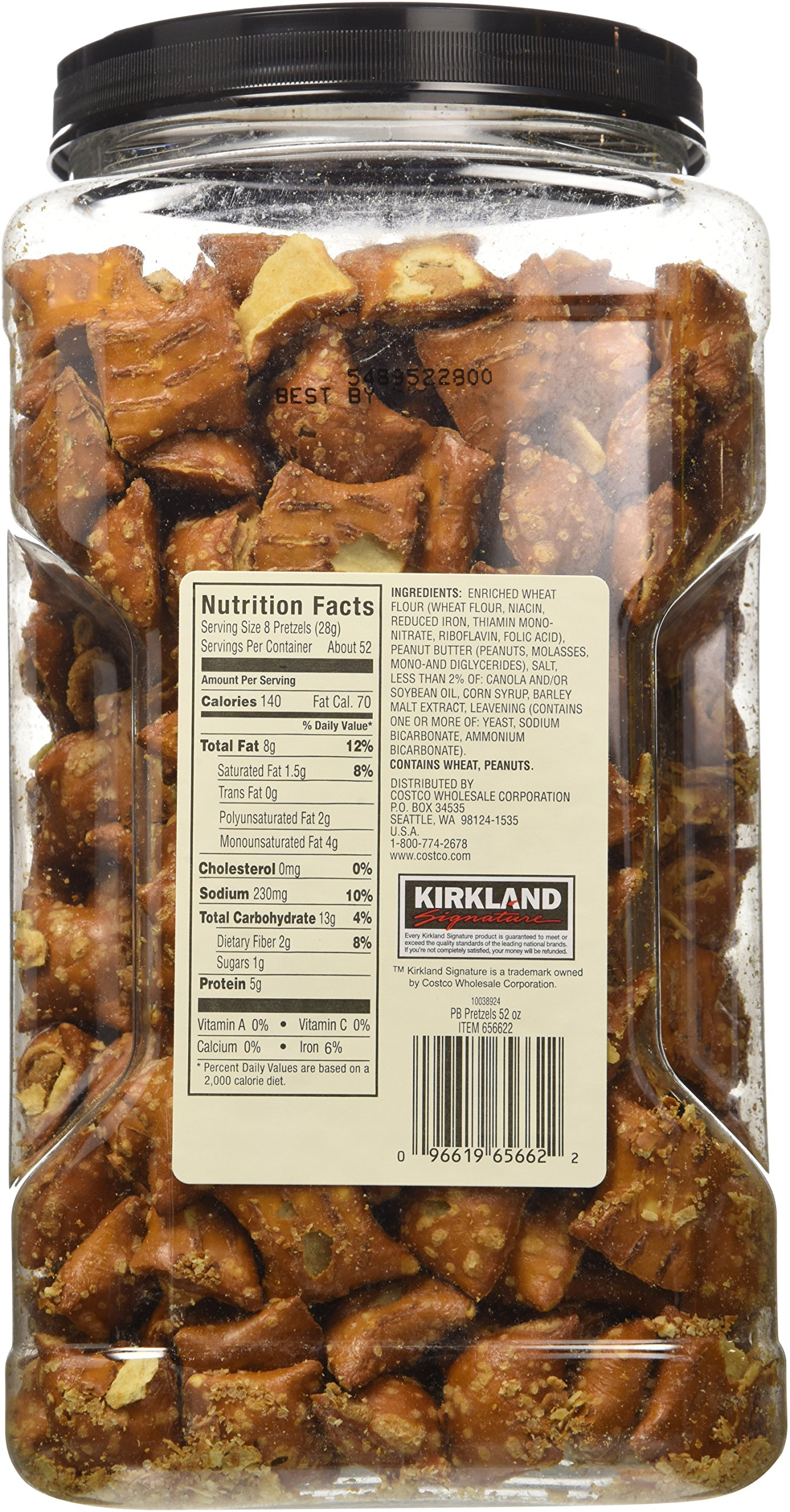 Kirkland Hk Anderson Peanut Butter Filled Pretzels 3 Lb (Pack of 2) by Kirkland Signature (Image #4)