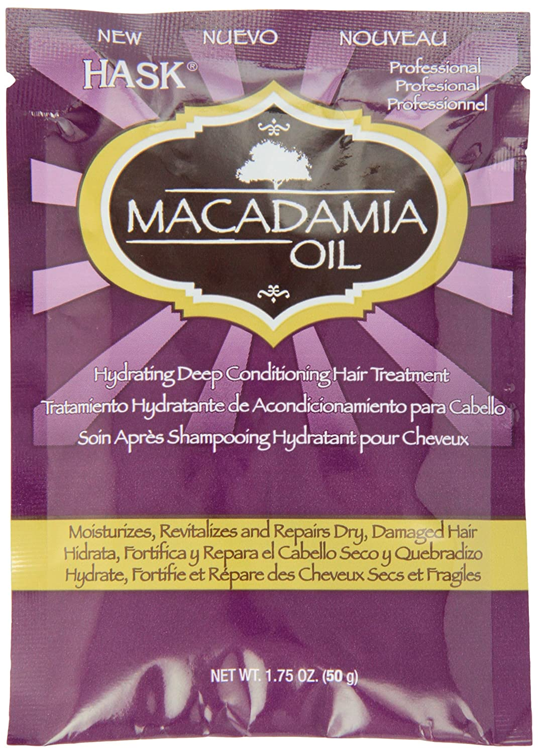 Hask Macadamia Oil Conditioning Packette 50g HA33305