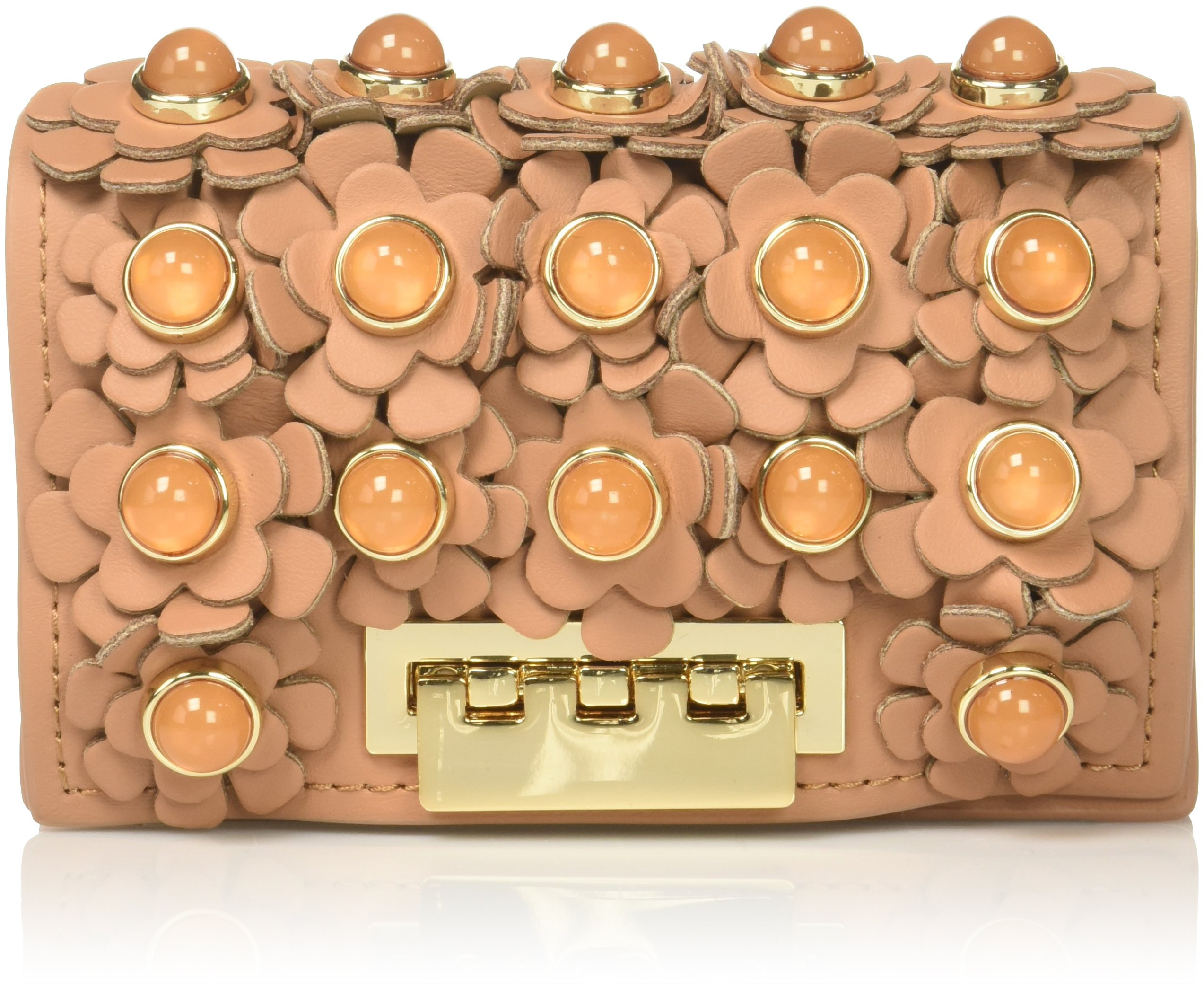 Eartha Card Case Ginger Credit Card Holder, Ginger, One Size by ZAC Zac Posen