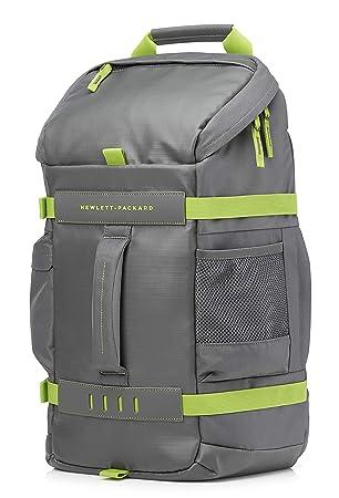 6de6b715f7c HP Sac à Dos Sport Odyssey 15.6 quot  Gris et Vert pour Ordinateur Portable
