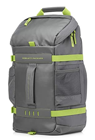 16bb402d232cb HP Odyssey Sport Rucksack grau   grün  Amazon.de  Computer   Zubehör