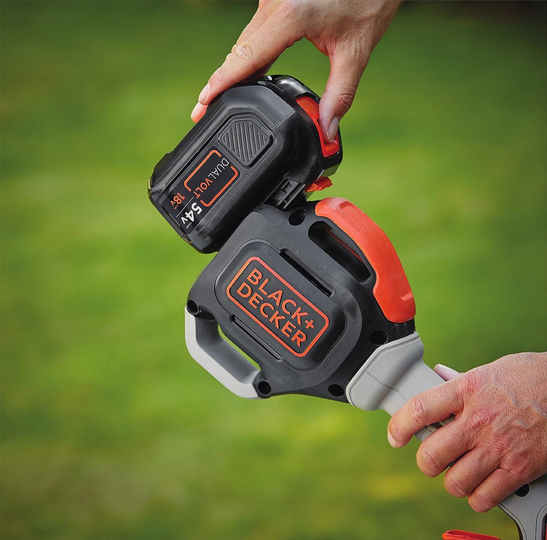 Black+Decker STC5433-QW 330mm Batería cortabordes y desbrozadora - Cortacésped (33 cm, 80 dB, Batería, Ión de litio, 54 V)