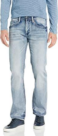 Buffalo David Bitton Men's Whiskered and Contrasted