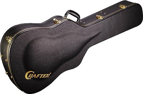 Crafter HC-DG - Funda rígida para guitarra acústica Dreadnought y Grand Auditorium: Amazon.es: Instrumentos musicales
