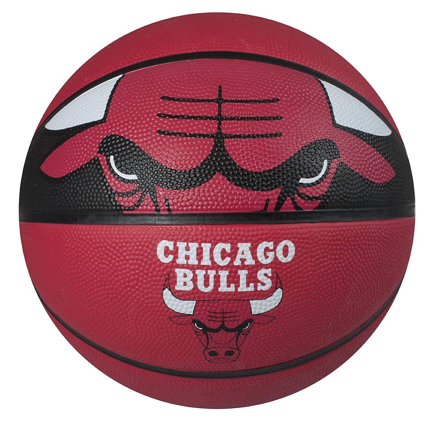 Spalding NBA Courtside Team Outdoor Rubber Basketball