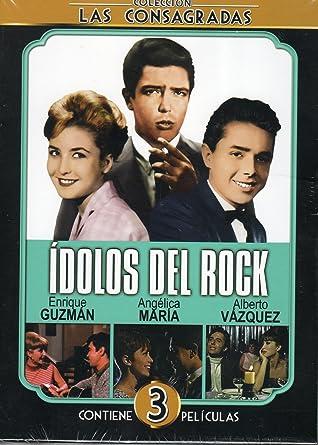 Coleccion Las Consagradas Idolos Del Rock (Enrique Guzan, Angelica Maria & Alberto Vazquez)