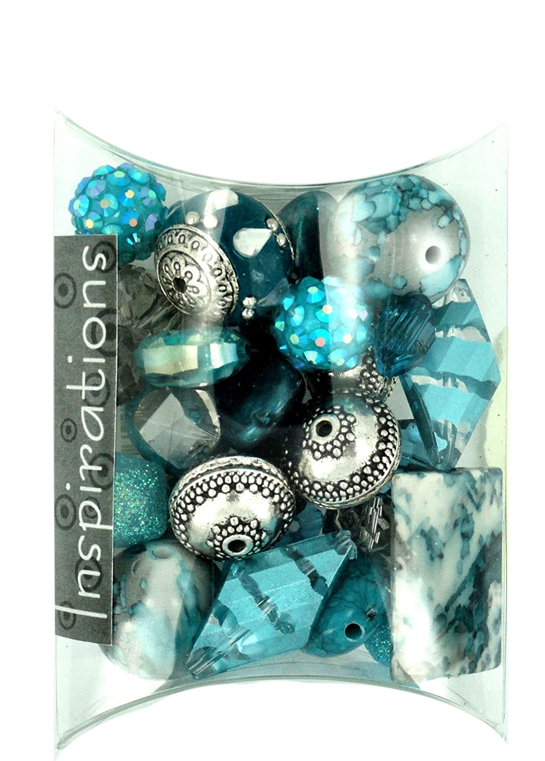Jesse James Beads Inspirations Beads 50g-Ice Bloom Jesse James & Co. Inc. 5754
