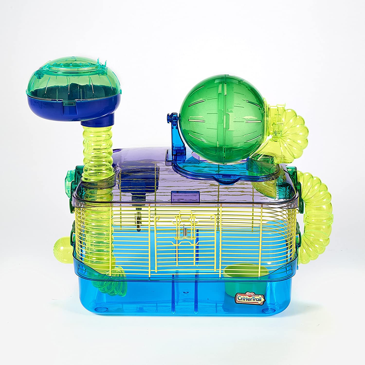 Superpet Kaytee Cages Critter Trail Fun-nel Connectable Colourful Plastic Tubing 100079233