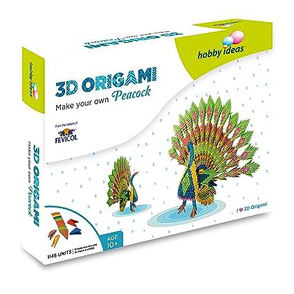 Pidilite DIY 3D Origami Craft Kit