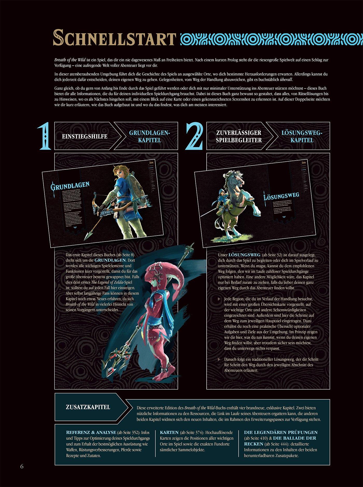 Legend Of Zelda Breath Of The Wild Erw Edition Lösungsbuch