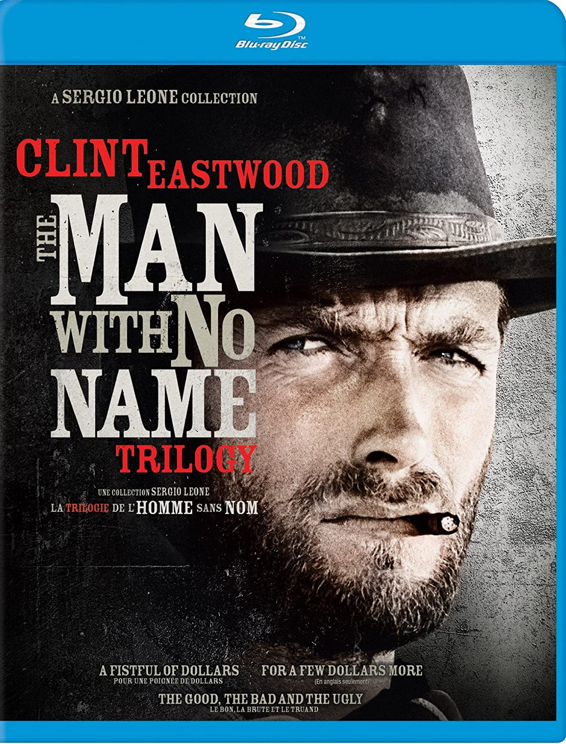 The Man With No Name Trilogy Collection (Bilingual) [Blu-ray] Clint Eastwood MGM