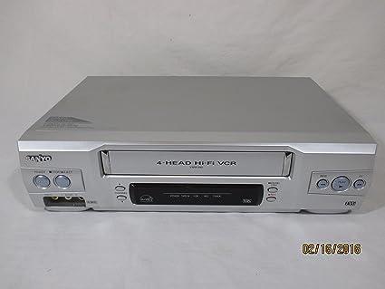 amazon com sanyo vwm 800 vhs stereo vcr electronics rh amazon com Sanyo Vwm 950 sanyo vwm 800 vcr manual