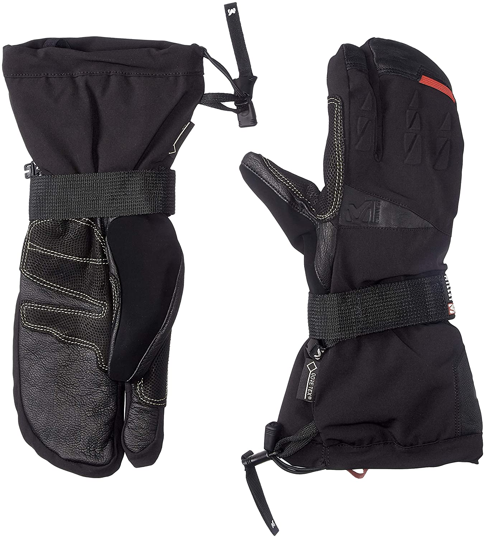 [ミレー] Expert 3 Fingers GTX Glove MIV7899 B07FKFTCN4  BLACK - NOIR EU XS (日本サイズS相当)