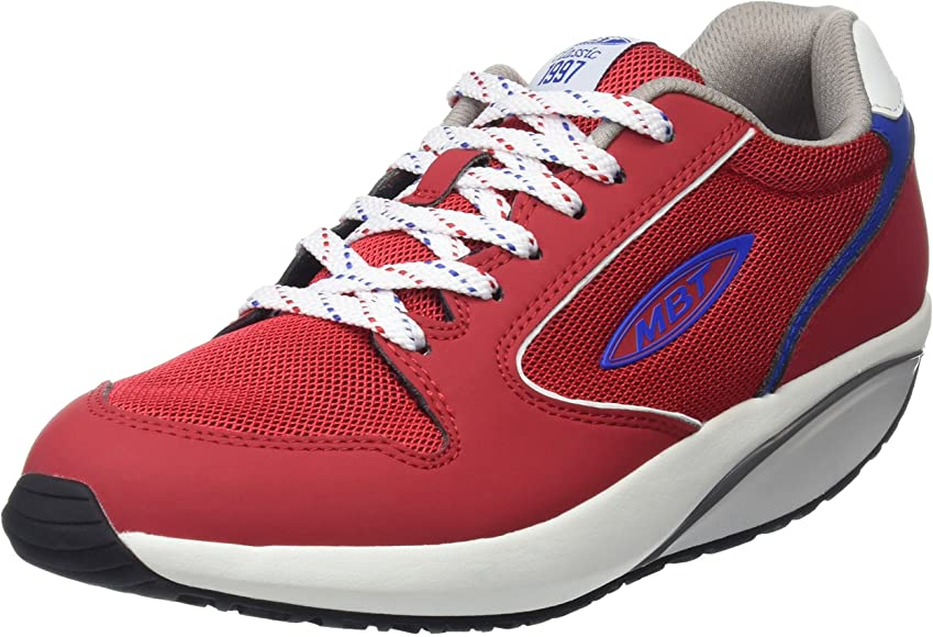 MBT 1997 W, Zapatillas para Mujer, Rojo (CRSMS Red/BLE BLNC 388Y), 36 EU: Amazon.es: Zapatos y complementos