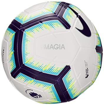 Nike Magia - Balón de fútbol, otoño/Invierno, Color White/Blue ...