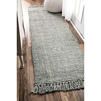 nuLOOM Natura Collection Jute Area Rug
