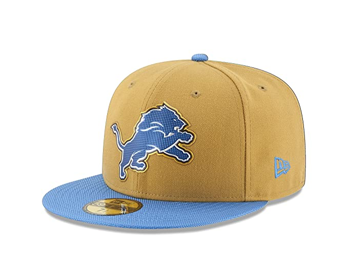 huge discount 239af 12bd4 Amazon.com   New Era NFL Gold Collection Gold Crown 59FIFTY Fitted Cap    Clothing