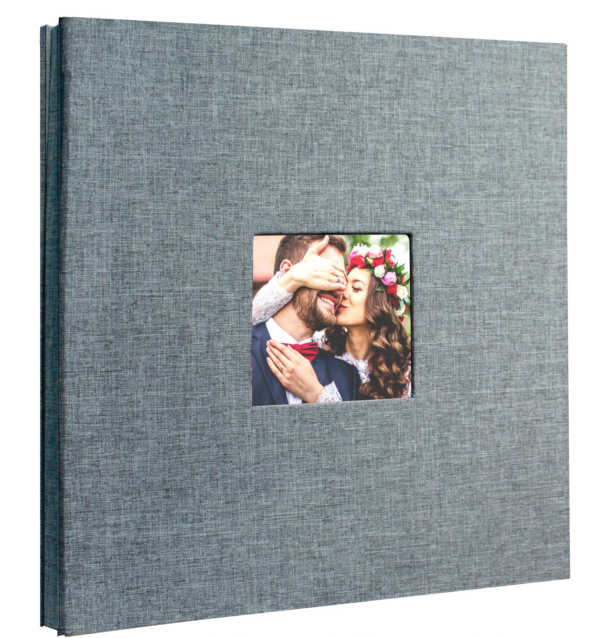 Beautyus Self Adhesive Stick Photo Album Magnetic Scrapbook Diy Anniversary Memory Book For Baby Wedding Family Albums Holds 3x5 4x6 5x7 6x8 8x10 Photos Gray M Buy Online In Aruba At Aruba Desertcart Com