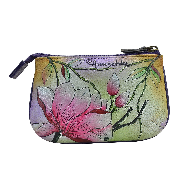 Amazon.com: Anuschka pintado a mano Tamaño Mediano cartera ...