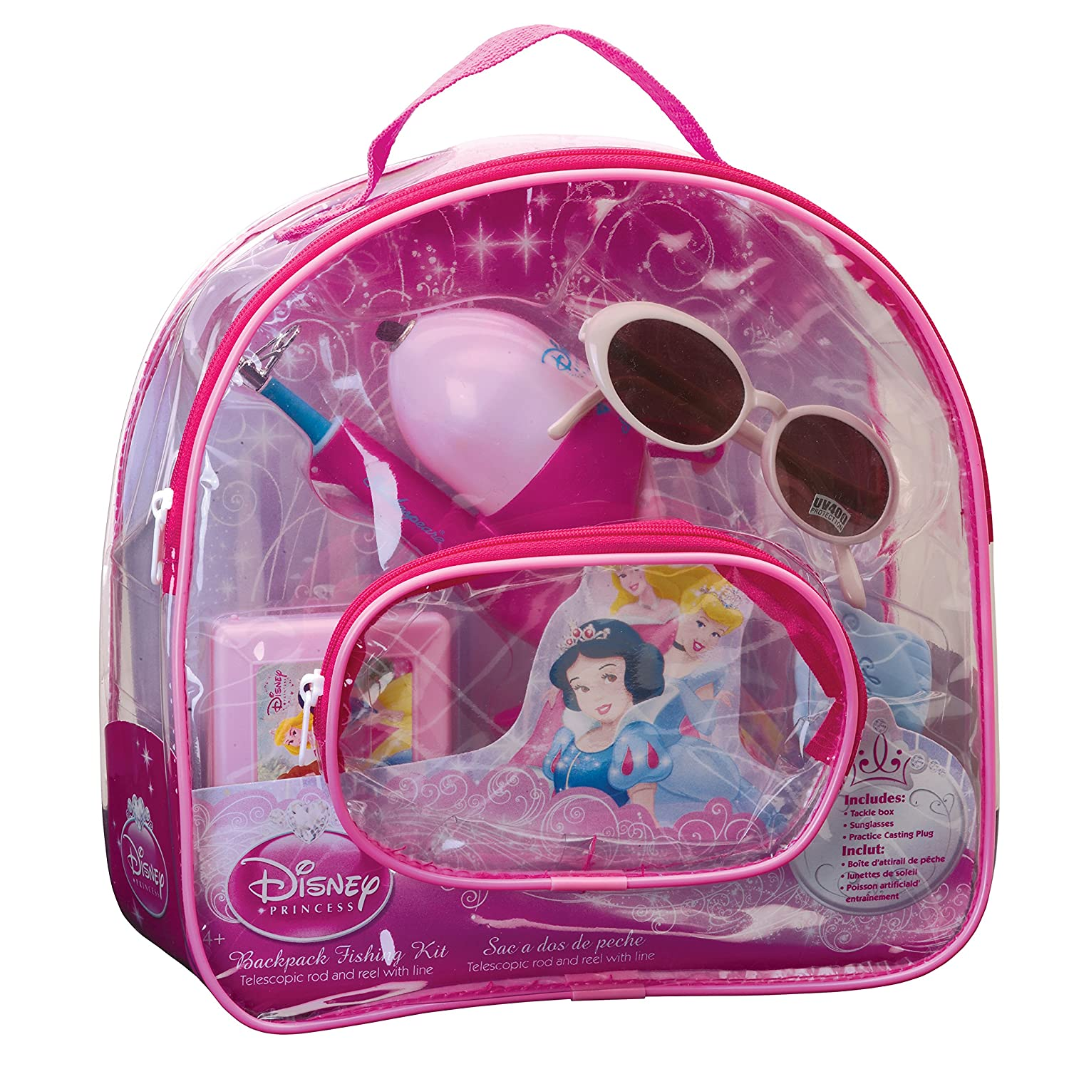 (Disney Princess) - Shakespeare Youth Fishing Backpack Kits B01IDEOAPA