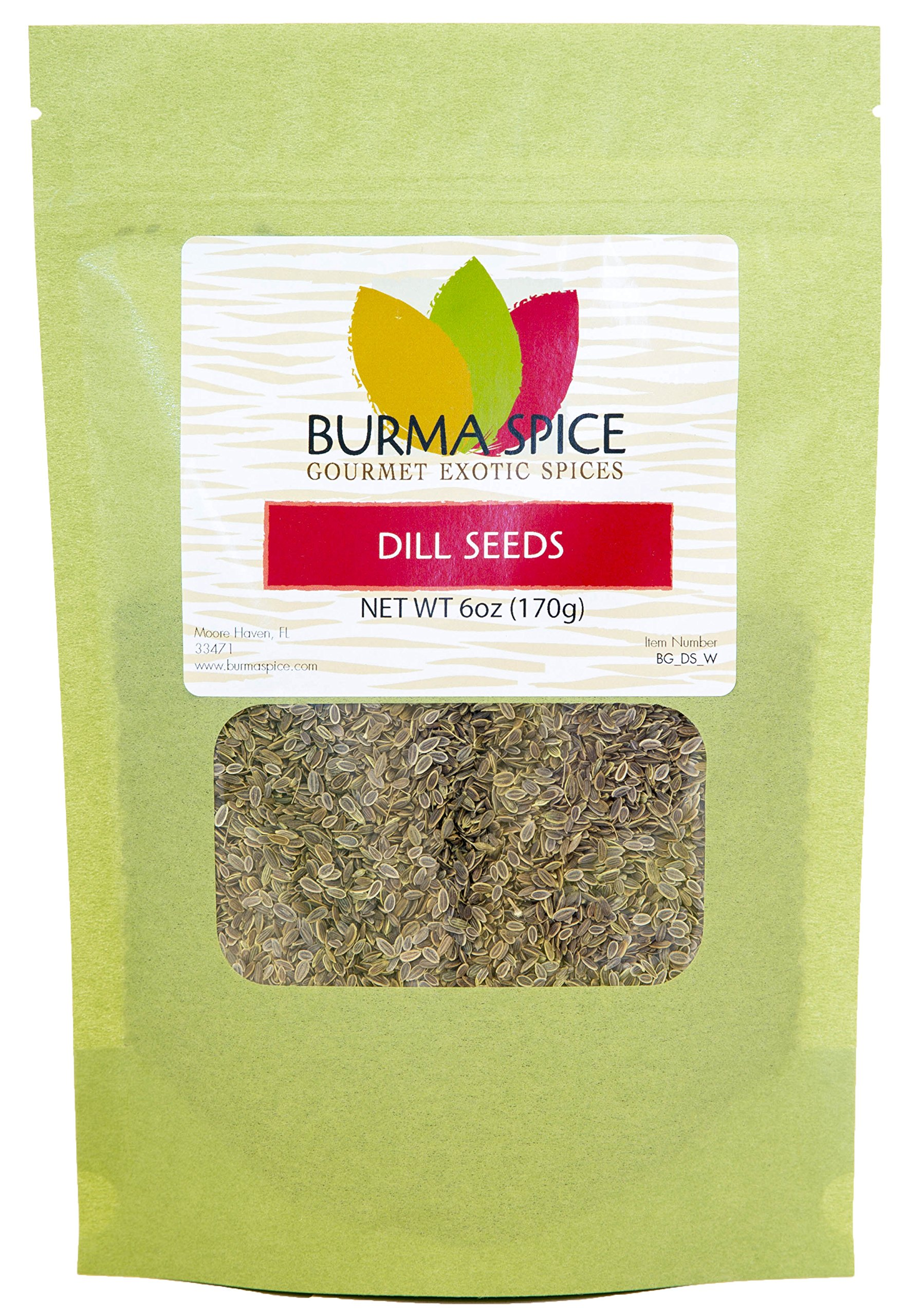 Dill Seeds : Dried Whole Kosher Herb : Great for Pickling Spice (6oz.)