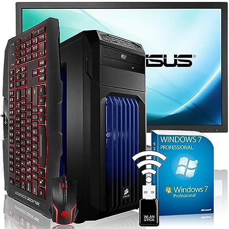 AGANDO Extreme Gaming PC de paquete completo multicolor AMD ...