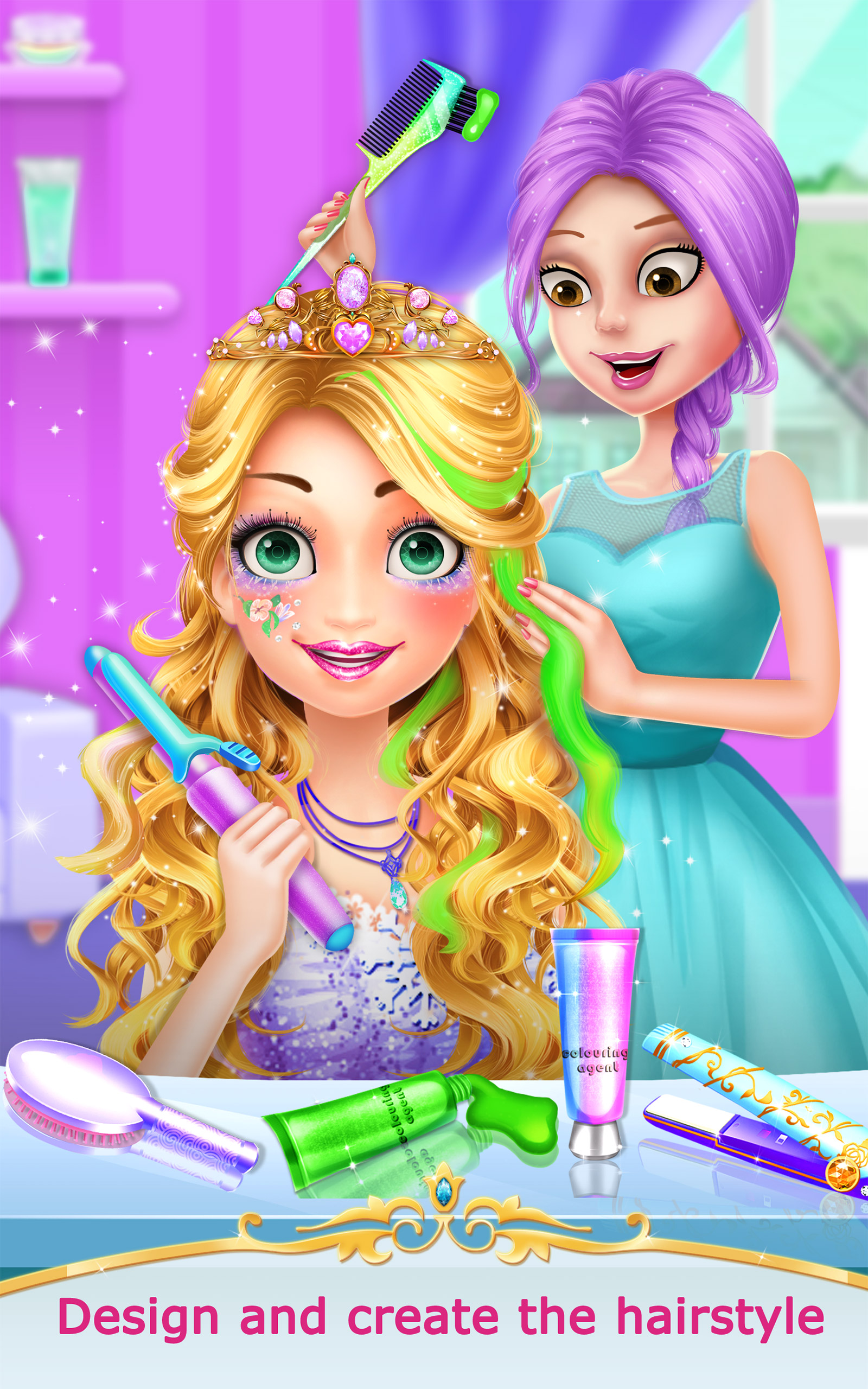 Amazon Princess Salon 2 Girl Games Appstore for Android