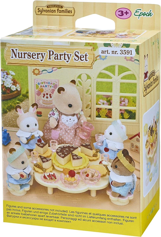 Sylvanian Families Free Shipping! Nursery Party Set