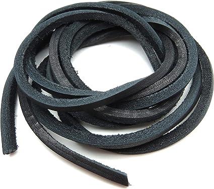 Amazon.com: Geniune Leather Shoelaces 1