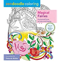 Zendoodle Coloring: Magical Fairies