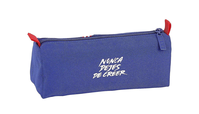Atl/ético de Madrid In Blue Oficial Estuche Escolar 210x70x80mm