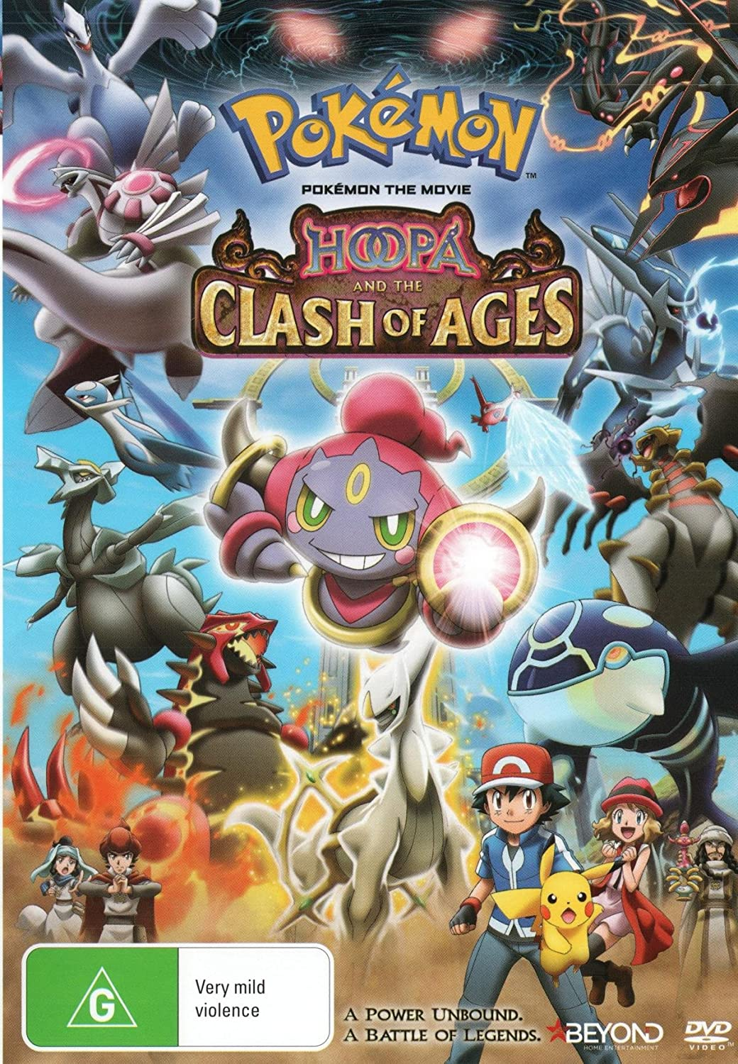 Amazon Com Pokemon The Movie Hoopa And The Clash Of Ages Anime