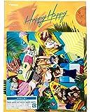 【外付け特典あり】 HAPPY HAPPY (初回限定盤A)(DVD付)( B5ポストカード(タワラブポスター「HAPPY HAPPY」絵柄)+『別冊TOWER PLUS+ TWICE 特別号』+ICカードステッカー(9種より1種ランダム)付)