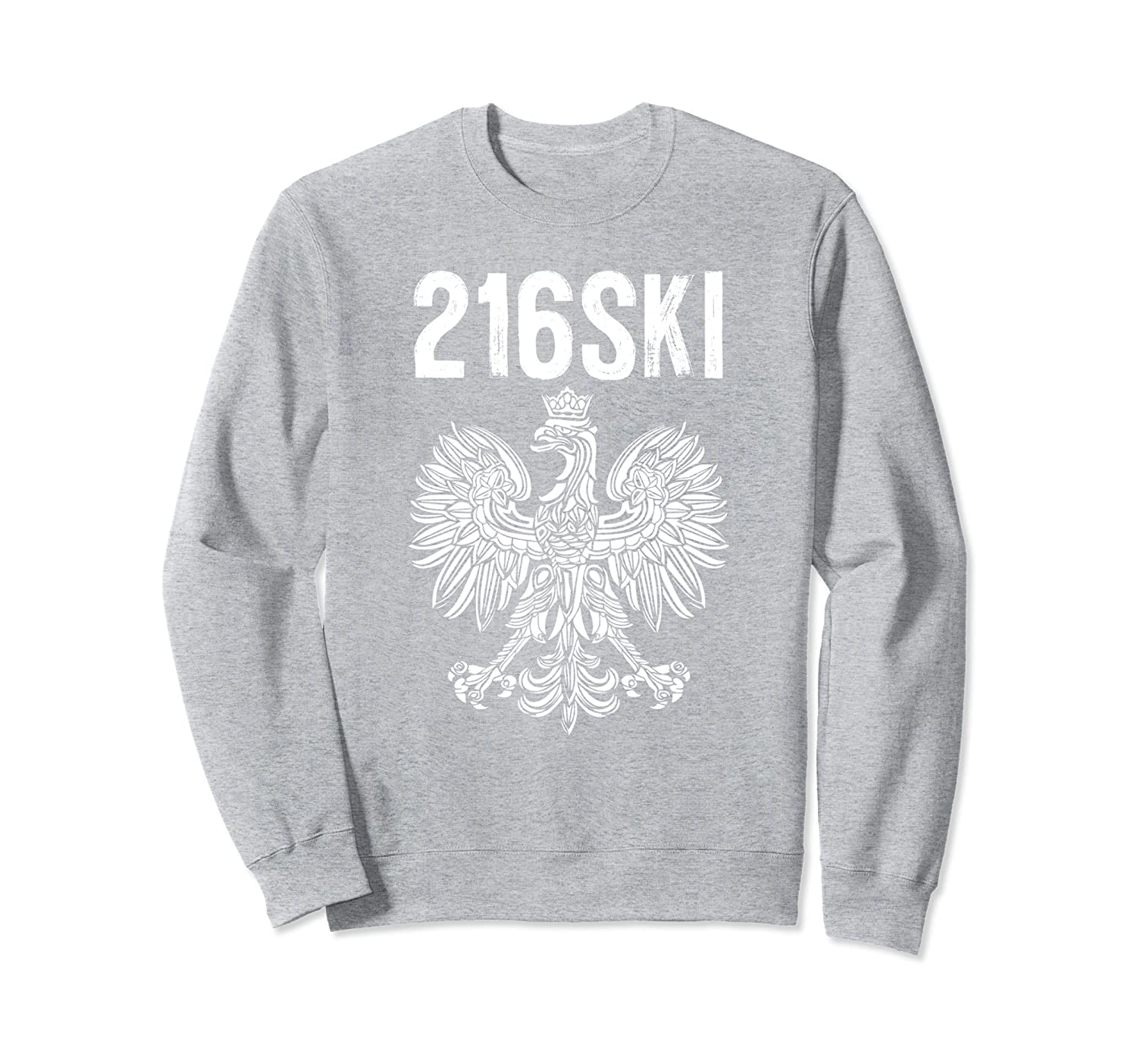 216SKI Cleveland Ohio Polish Pride Sweatshirt Dyngus Day-TH