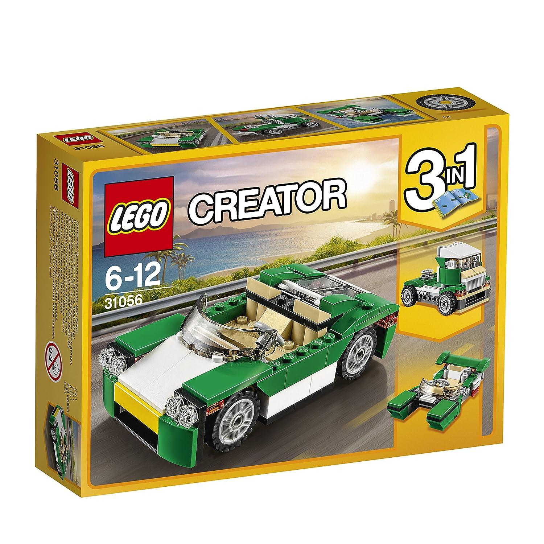 LEGO Creator Descapotable juego de construcción color verde