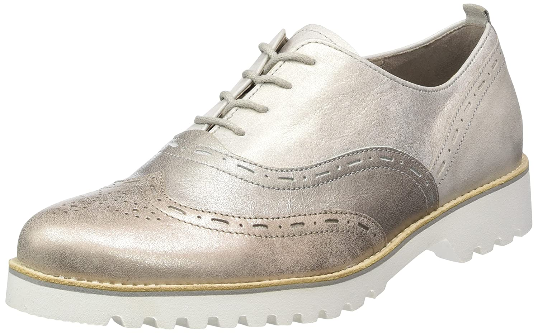Gabor Shoes Gabor Comfort, Derby Comfort, B00398161C Femme Argent (12 Shoes Silber K.s.weiss) 8d1d9c8 - automaticcouplings.space
