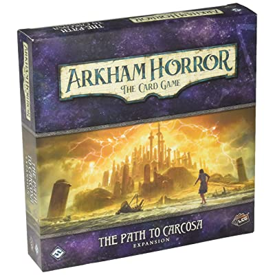 Arkham Horror: Path to Carcosa (Deluxe): Toys & Games