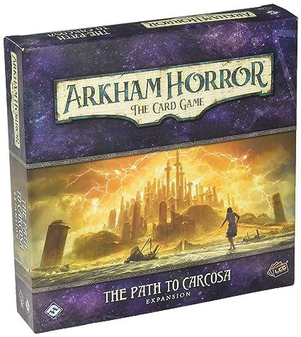 Giochi di società Arkham Horror the Path to Carcosa Expansion English