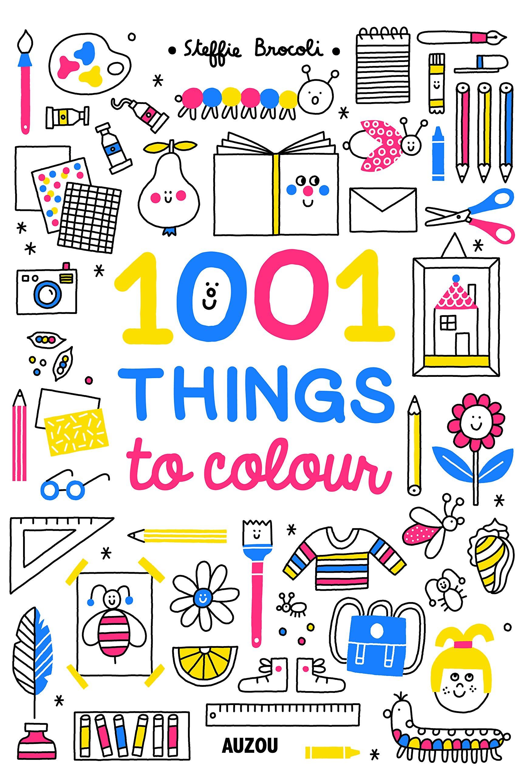 Read Online 1001 Things to Colour pdf epub