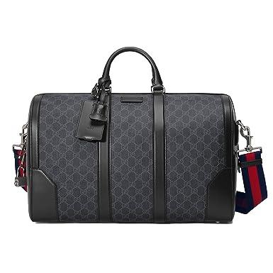 Gucci Homme 474131K5IAN1095 Noir Pvc Sac De Voyage  Amazon.fr ... d3a6609fa0f
