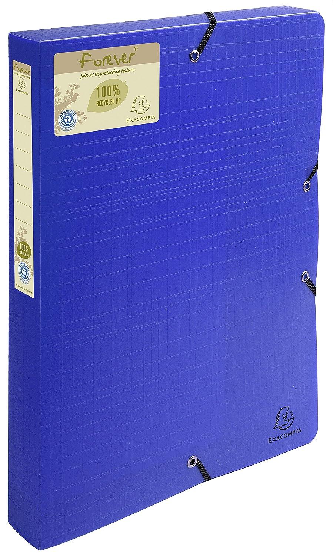 Boite de classement exabox dos 40mm polypropylene 7/10e forever pp Exacompta 553572E