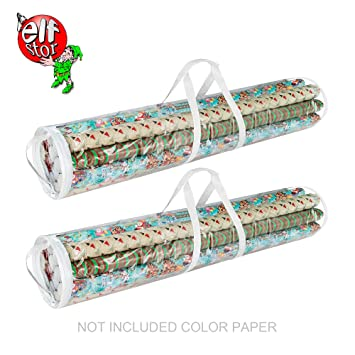 Ordinaire Elf Stor | Wrapping Paper And Gift Wrap Storage Bags Holds 40 Inch Rolls Of