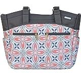 JJ Cole Camber Diaper Bag, Coral Rose