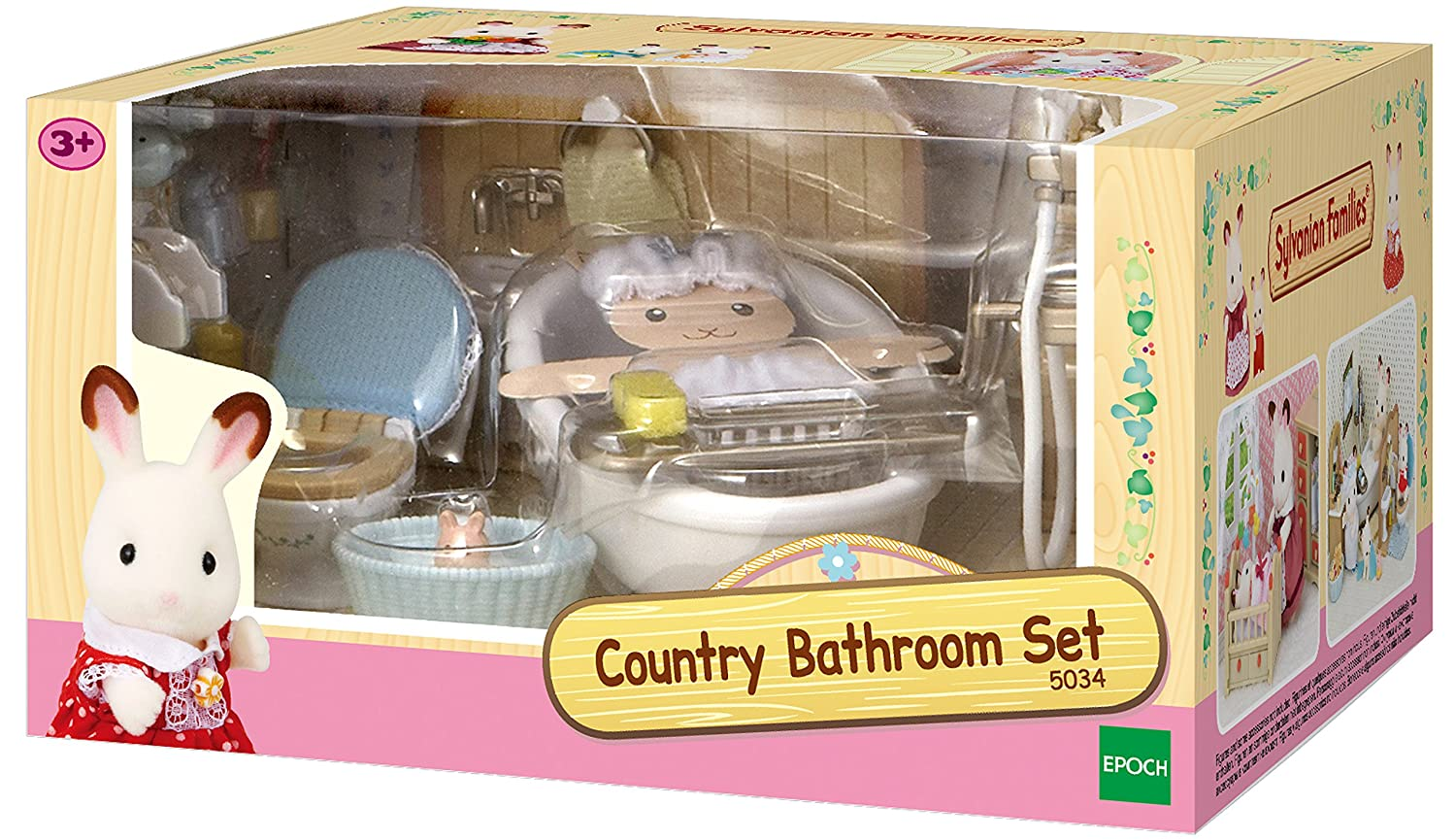 Salle De Bain Geneve ~ Sylvanian Families 5034 Bath Room Set Sylvanian Families Amazon Co