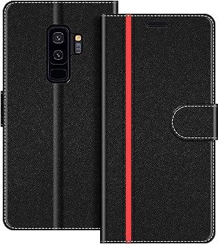 COODIO Funda Samsung Galaxy S9 Plus con Tapa, Funda Movil Samsung ...