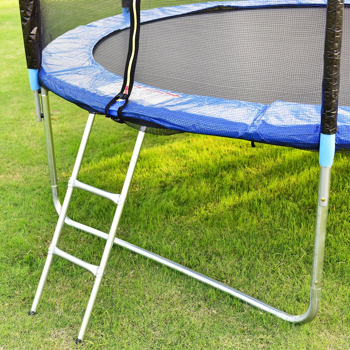 Giantex Trampoline Combo Bounce Jump Safety Enclosure Net W/Spring Pad Ladder (10 FT) by Giantex (Image #7)