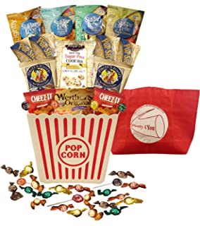 Organic stores gift baskets simply sugar free gift basket amazon plenty 4 you ultimate sugar free guilt free movie night gift bucket negle Choice Image