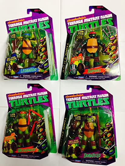 Amazon.com: Nickelodeon Teenage Mutant Ninja Turtles cifras ...