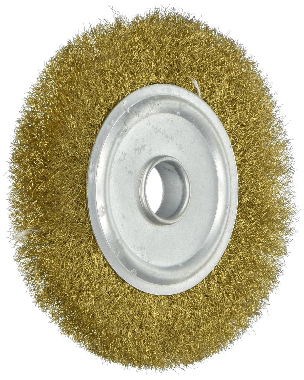Sourcingmap® 100mm de diamètre 5/20, 3cm Tonnelle Crimped Fil de cuivre Brosse de meulage 3cm Tonnelle Crimped Fil de cuivre Brosse de meulage a15061100ux0009